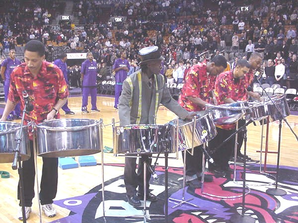 National Anthems Toronto Raptors NBA Game